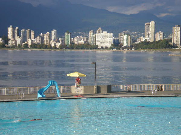 Swimming and Vancouver Beaches