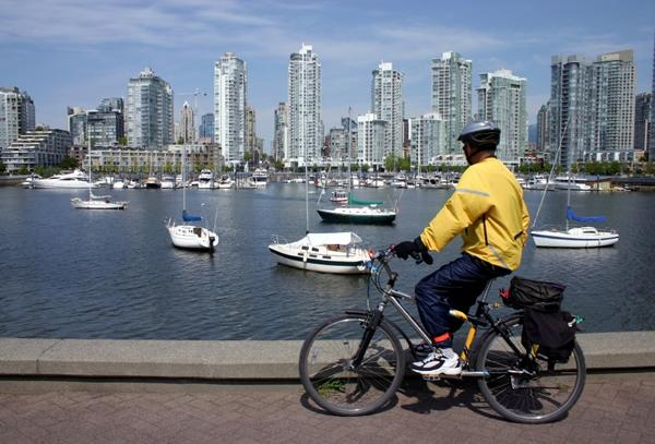 Getting around Vancouver by bicycle