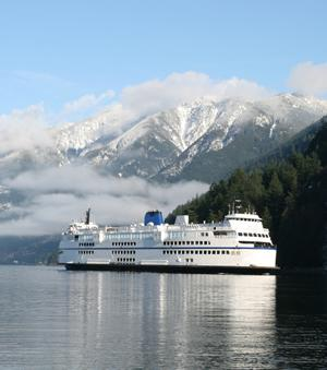 How to get to Vancouver by ferry